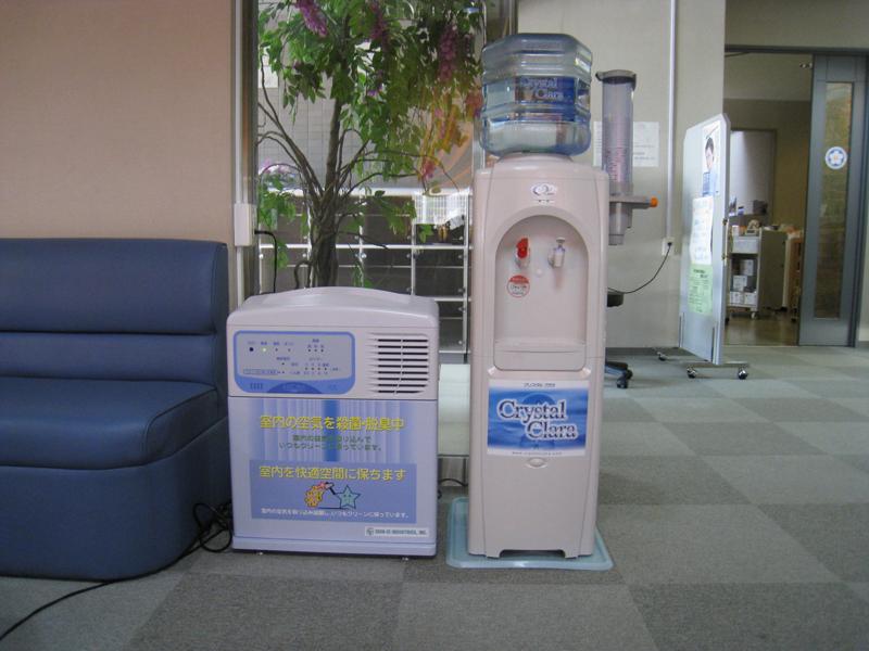 ウォーターサーバーと空気清浄機